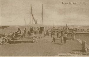 molo a Marano Lagunare 1903